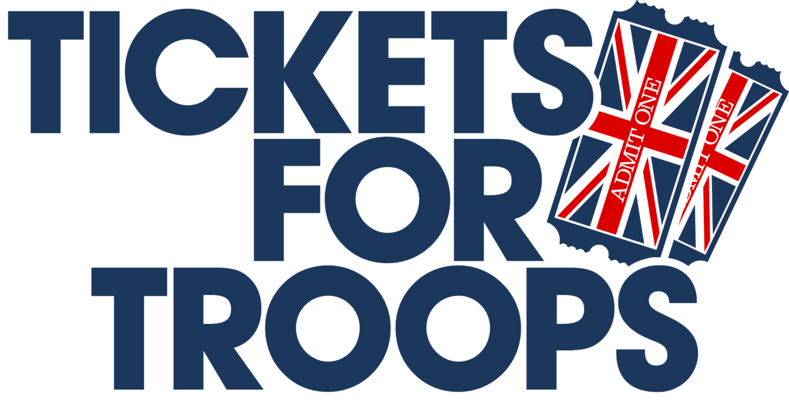 Logo for Tickets for Troops
